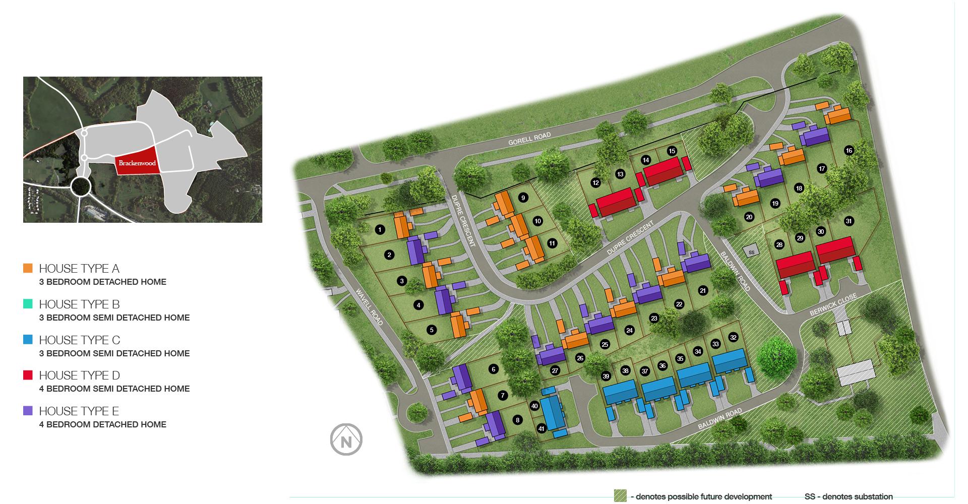 Brackenwood Site Plan