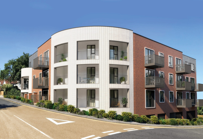 Helix Apartments Cgi