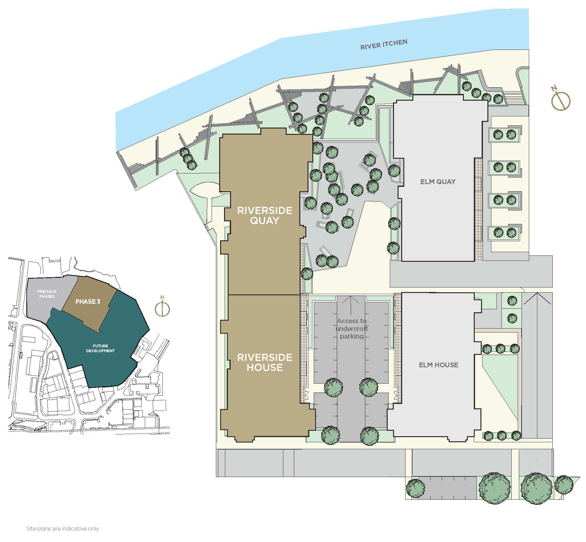 Chapel Riverside Riverside Quay Site Plan New