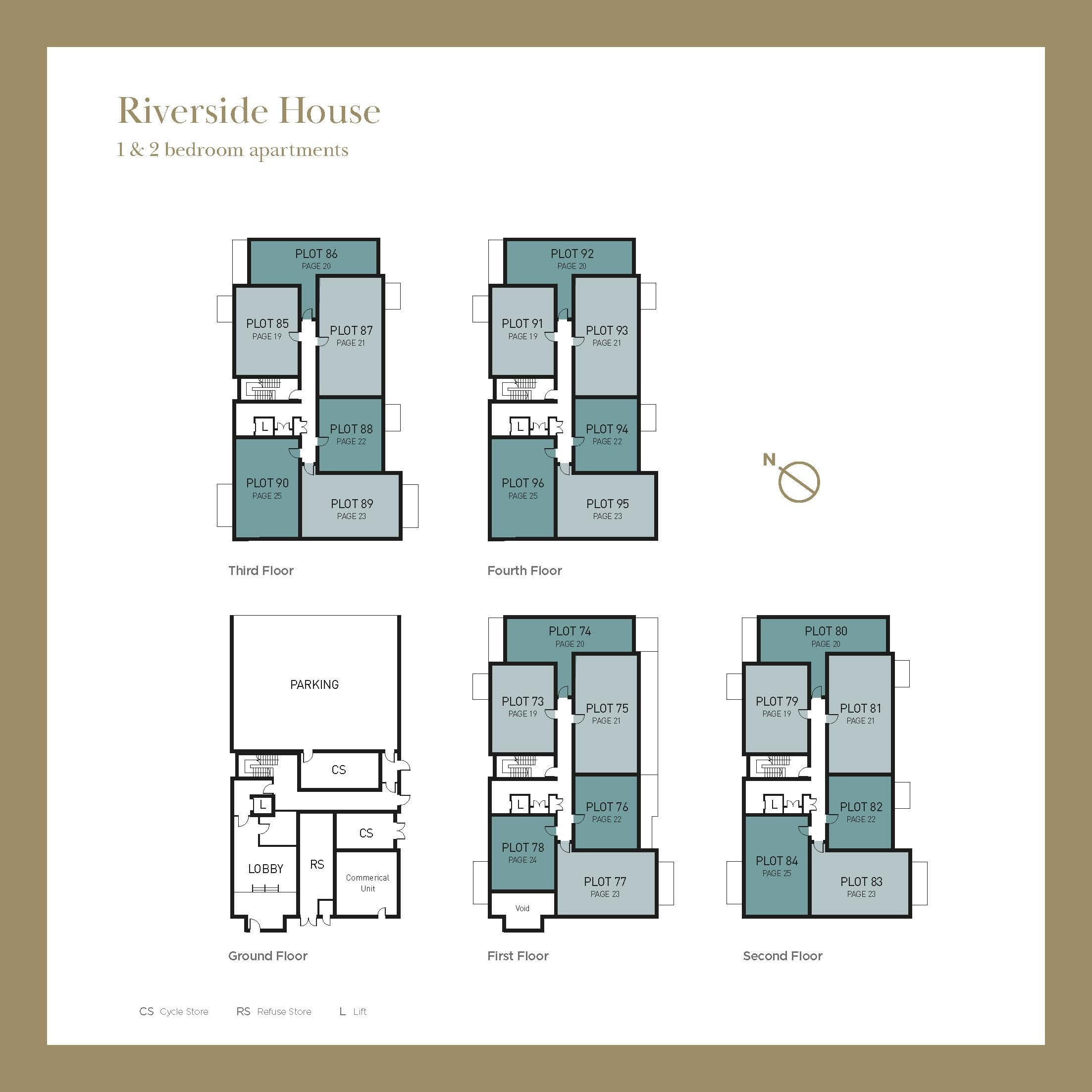 Riverside House Plot Locator