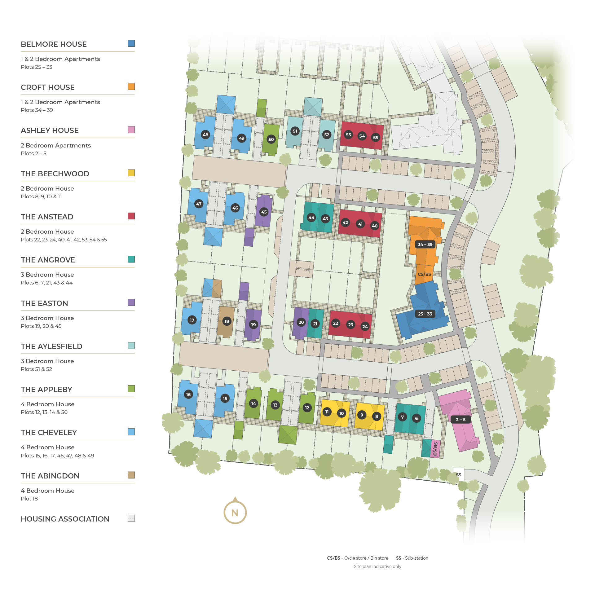 Woodview Apartments: Farrier's Wood Houses & Apartments