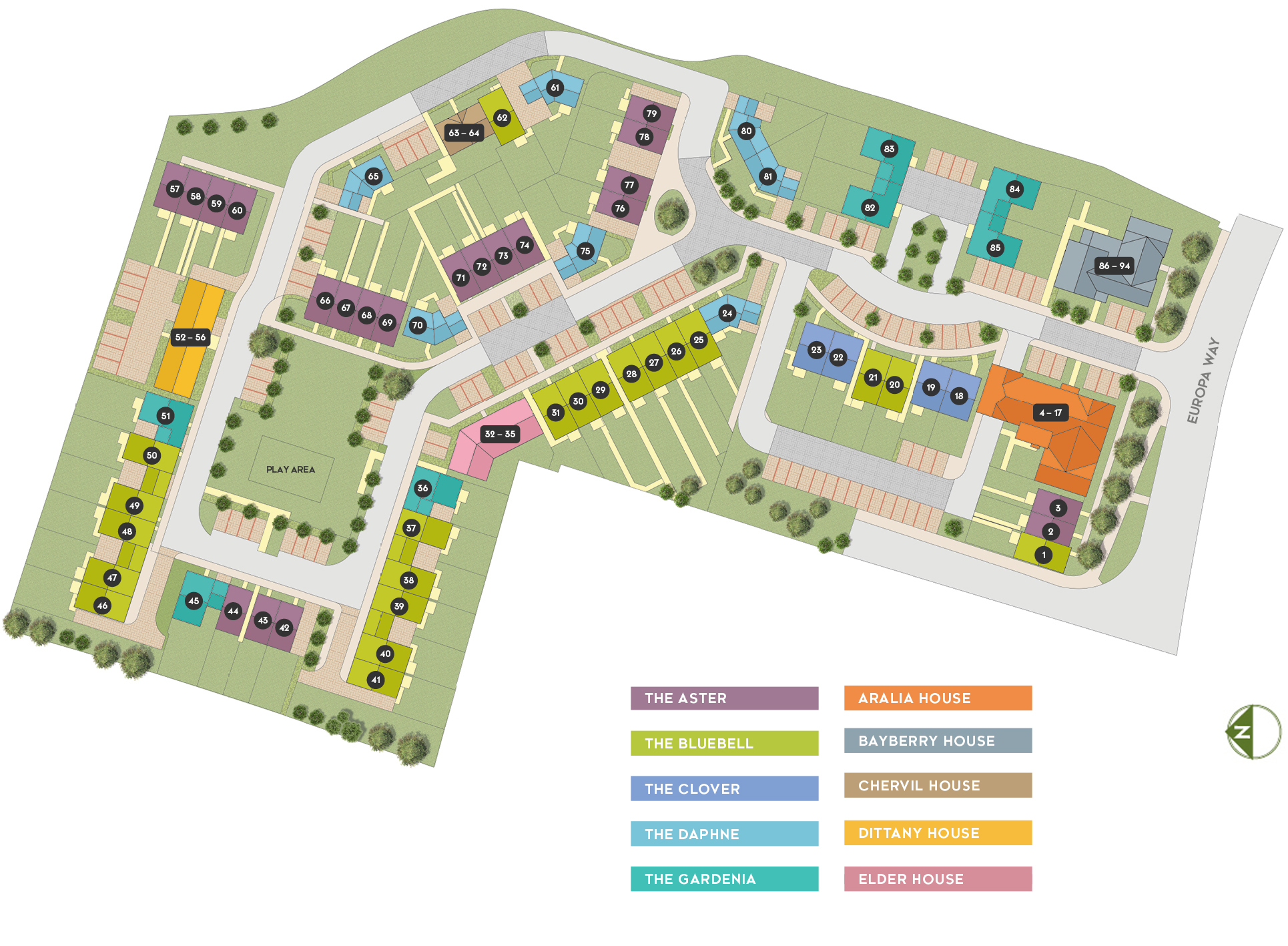 Jasmine Park Siteplan