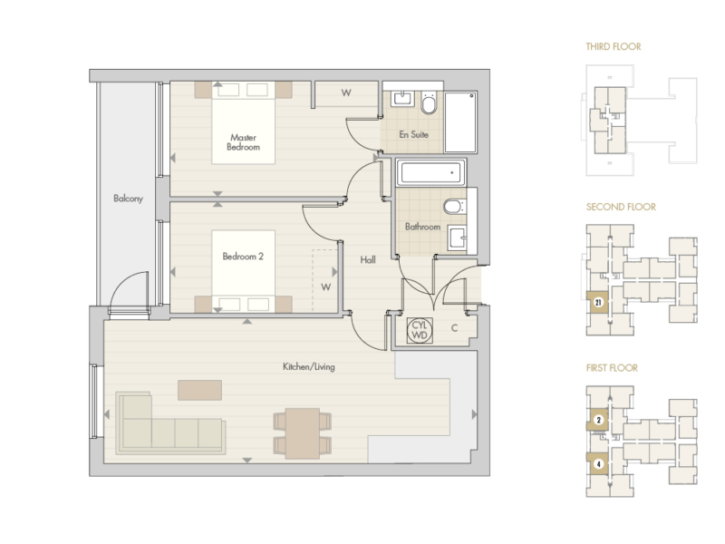 Apartments 2 4 21