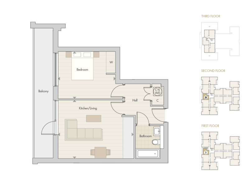 Apartments 3 20