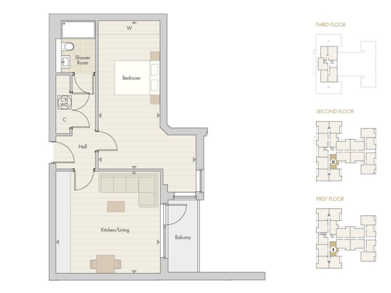 Apartments 8 25