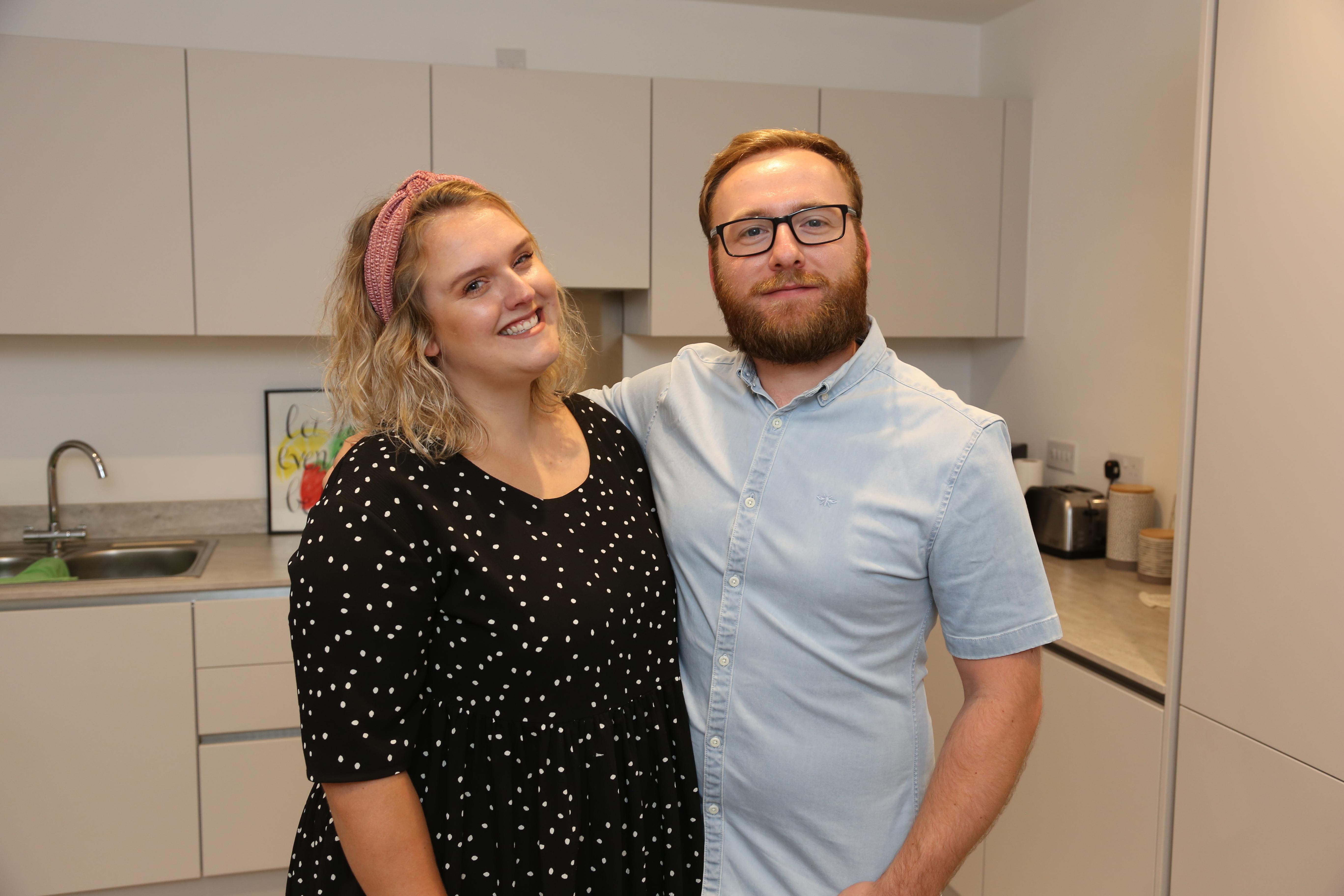 Lauren Humbles Kieran Kadlec At Rectory Apartments By Inland Homes 1